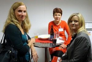 Patricia Möckel, Sabine Jansen, Stephanie Dittebrandt (v.l.n.r.)